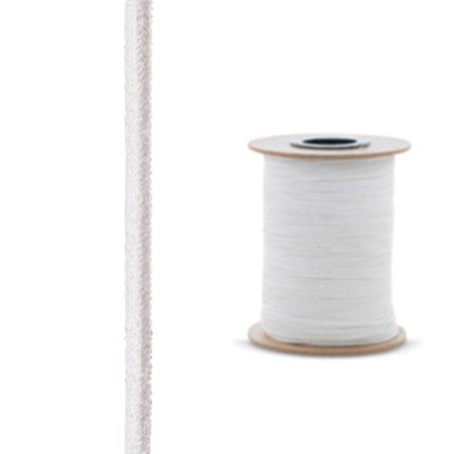 STEIGNER Ofendichtschnur Kamindichtung aus KERAMIKFASERN, hitzebeständig bis 1260°C, 2,5m, 10x10mm, SKD01-10