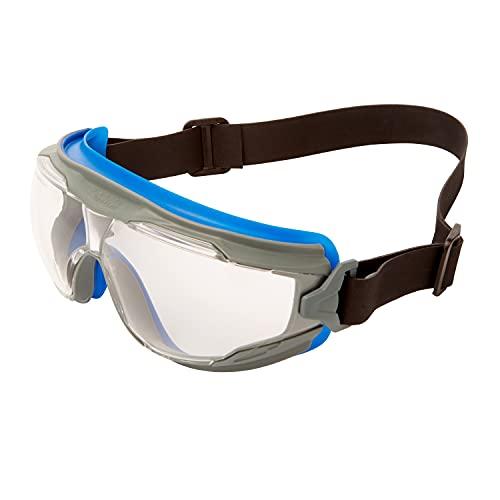 3M™ Goggle Gear™ 500 Gafas de seguridad, banda de neopreno, recubrimiento antiempañante Scotchgard™ (K&N), lentes transparentes, GG501NSGAF-EU