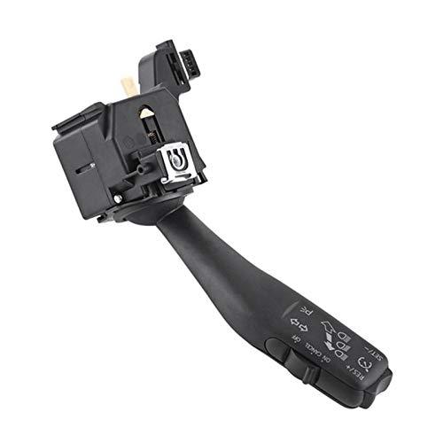 ZHANGJINYAN Nuevo Interruptor de Control de cruceros Interruptor de señal 1K0953513G 1K0 953 513 G Ajuste para VW Jetta Golf 5 6 MK6 Vi Jetta Plus GTI MK5 para Skoda (Color : Black)