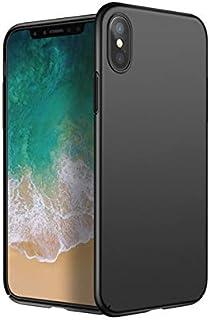 حافظة iPhone X، من مادة PC الصلبة باللون الاسود من كيزيوون