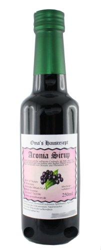 Aronia Sirup (1x 250 ml) nach Omas Hausrezept