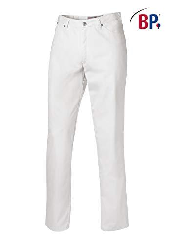 BP 1669-686-21-52n Jeans für Männer, Stretch-Stoff, 230,00 g/m² Stoffmischung mit Stretch, weiß ,52n