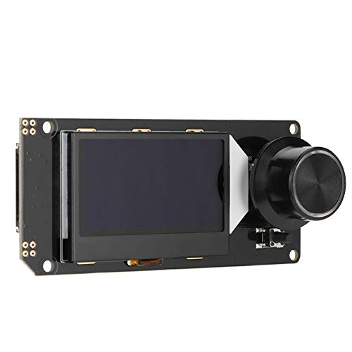 ASHATA Pantalla LCD 12864 Smart, Módulo de Control de Impresora 3D MKS Mini 12864 Pantalla LCD, Pantalla de Controlador LCD con Soporte de Tarjeta SD para Marlin DIY Impresora 3D en (en RGB)