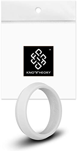 Knot Theory Grey Kedge Ring for Men and Women 5mm Size 6