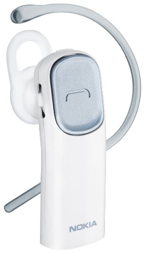 Nokia BH-216 Pearl White Bluetooth Headset