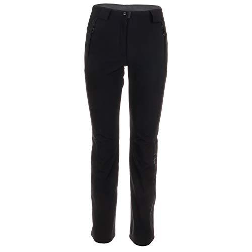 CMP sneeuwbroek dames softshell broek skibroek waterafstotende outdoorbroek warm gevoerd 8000 mm waterkolom zwart Giola
