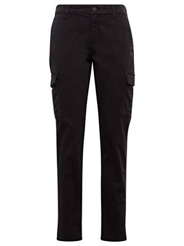 Mavi Damen Hosen Regular Julia Black Twill 28 28