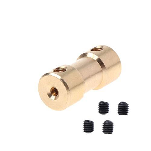 TANGJIANCHENG-c Acoplador 2-5mm para Acoplamiento de Acoplamiento de Acoplamiento de Acoplamiento de Eje de Cobre del Motor Acoplador FEXIBLE (Inner Diameter : 4 4mm)