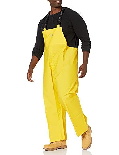Photo of yellow colored Carhartt Mayne PVC Bib Overalls