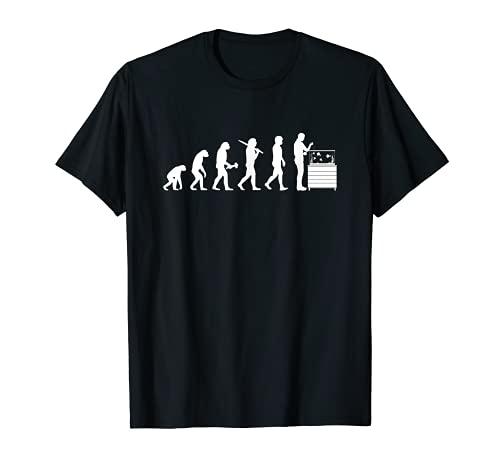Aquarianer Evolution Aquarium Aquaristik T-Shirt