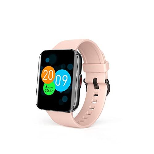 Zfeng Reloj deportivo hiperboloide al aire libre Temperatura corporal Oxígeno en sangre Monitoreo pulsera portátil Bluetooth de alta definición deportes impermeable reloj inteligente tabla -B_A