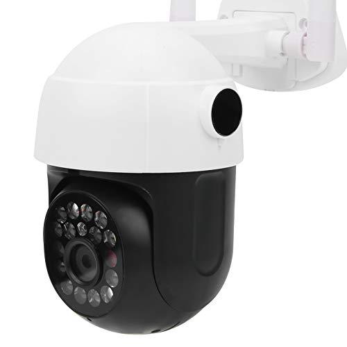 Okuyonic Cámara Domo de visión Nocturna con Control Inteligente de la cámara IP de WiFi 1080P, para Uso en Exteriores(European regulations)