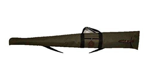 CAZA Y AVENTURA Funda para Escopeta superpuesta o paralela montada en Cordura Verde 120cm