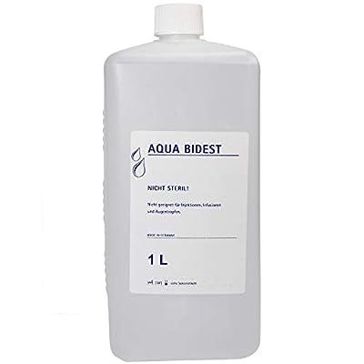 Aqua bidest bidestilliertes Eau différentes tailles