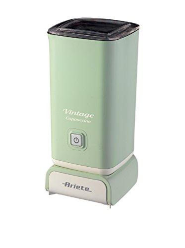 Ariete 2878 Vintage Schiumatore -Montalatte per cappuccino, tè, cioccolata calda e fredda, infusi...