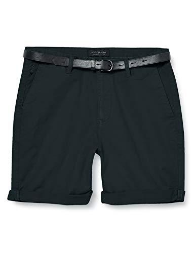 Scotch & Soda Herren Classic Garment-Dyed Chino Shorts, Grün (Amalfi Green 2763), W32(Herstellergröße: 32)