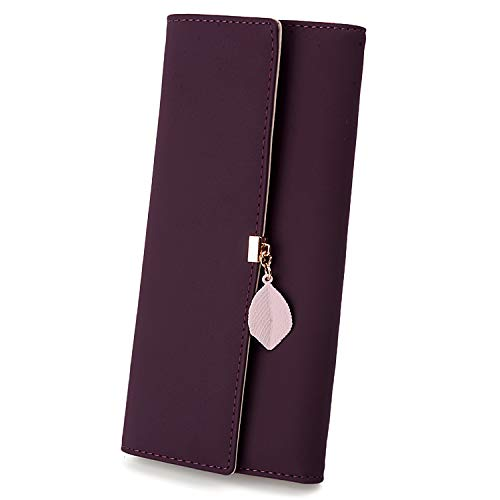 Ladies NUOVO Soft London Leather Purse//Wallet slot schede più note FINESTRA ID