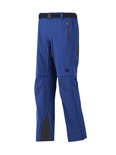 Maul T-Shirt Eiger de Elastic de Zipp Off Pantalon Long Taille Unique Rauchblau/Schwa
