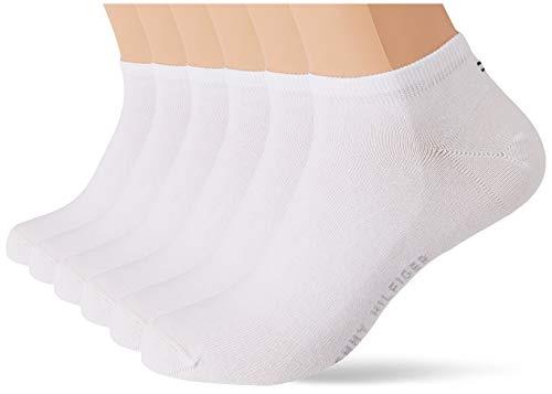 Tommy Hilfiger Mens Men's Sneaker Multipack (6 Pack) Socks, White, 39/42