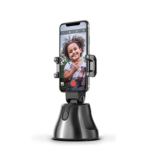 EWCover Universal Phone Gimbal Stabilizer, 360-Grad-Drehung Auto Face Tracking Smart Shooting Handyhalter