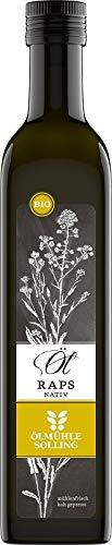 Olio di colza naturale – BIO, confezione da 1 (1 x 500 ml)
