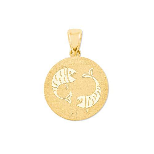 amor Colgante moneda Mujer oro amarillo - 2020793