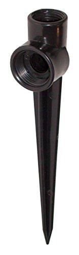 Aqua Control C170625 pincho Porta aspersor 1 Unidad, Negro, 6x4x20 cm