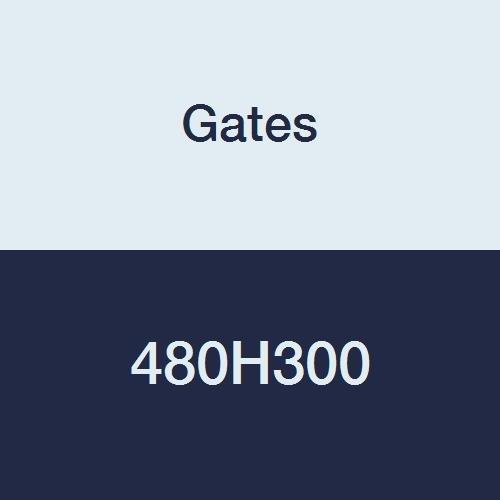 Gates 480H300 PowerGrip Correa de distribución pesada, paso de 1/2 pulgadas, ancho de 3 pulgadas, 96 dientes, longitud de paso de 48 pulgadas