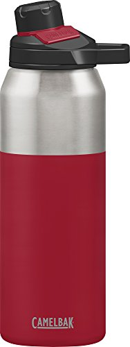 Camelbak Trinkflasche CHUTE Mag Vakuum Edelstahl isoliertechnologie Wasser Flasche, rot (Cardinal), 32oz