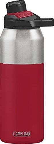 Camelbak Botella de agua CHUTE Mag Vacio Acero inoxidable aislado botella de agua, rojo (cardenal), 32 oz