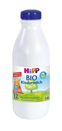 HiPP Bio kindermelk klaar om te drinken, verpakking van 6 (6 x 1 l)