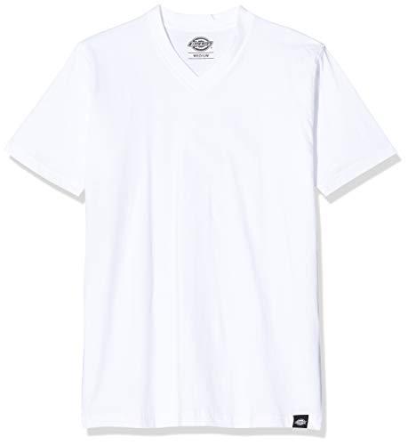 Dickies Herren V-Neck Mc Tsht Pk T-Shirt 3er pack, Mehrfarbig (Assorted Colour As0), Small
