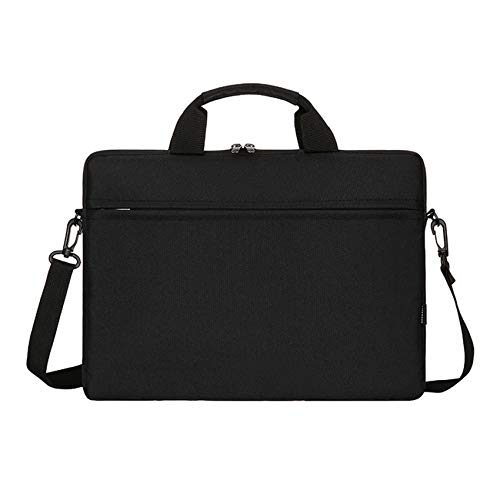 Wivarra 13 InCH LAPtop Handbag for, 13 InCH and Below LAPtops (Black)