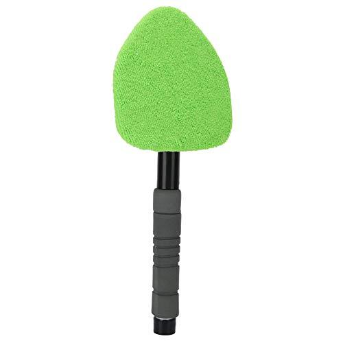 Yisentno Windschutzscheiben-Reinigungsbürste, Leichter Autofensterreiniger, Rutschfester, langlebiger, um 180 ° geschwenkter dreieckiger Kopf