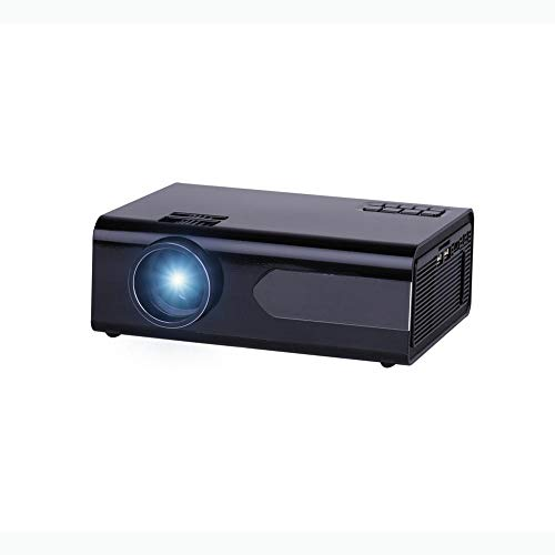 Video Projector 800 Lumens LCD Projector 800x480P Resolution 2000:1 Contrast Ratio Home Theater Projector-Basic Version For Office Or Home Mini Videoprojector ( Color : Photo color , Size : One size )