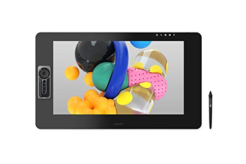 Wacom Cintiq Pro 24 Creative Pen and Touch Display – 4K Graphic Drawing Monitor with 8192 Pen Pressure and 99% Adobe RGB (DTH2420K0)