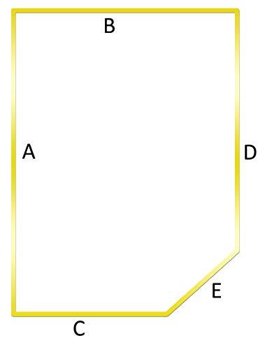 Dibapur® Visco/Topper für Wohnwagen (Breite: 121 bis 140 cm x Länge bis 200 cm) x Höhe 5 cm - Caravan, Camping und Boot