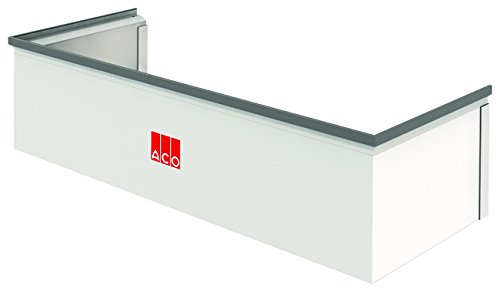 Preisvergleich Produktbild ACO Therm Aufsatz für 40 cm tiefen Lichtschacht fixes Aufstockelement INKLUSIVE befahrbares Montageset 1000 x 275 mm