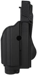 NEW BLACK IMI-Z1600 -TLH Tactical light/laser holster level II for Glock 17/19 Gen 4 Compatible - FREE BONUS - New Traveling Kit