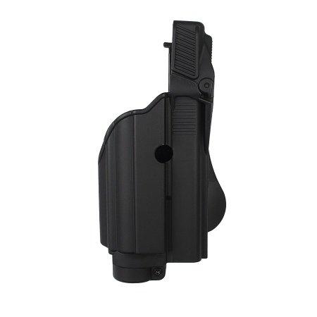Étui pour lampe tactique/laser niveau II pour Glock 22/23 Gen 4 Noir