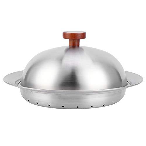 FOTABPYTI Cesta de cocción al Vapor, Plato de cocción Espesado, para ollas de 24‑28 cm Accesorio de Cocina Restaurante Hogar