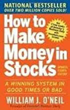 How to Make Money in Stocks 4th (fourth) edition Text Only