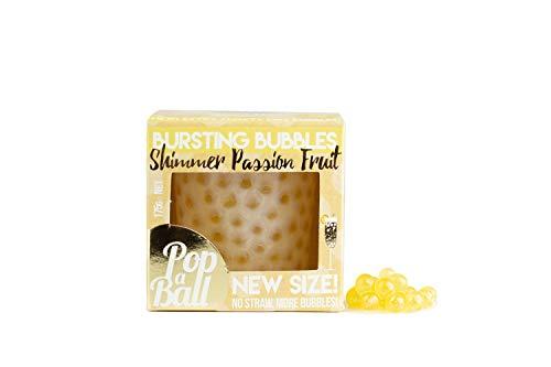 Popaball Shimmer Passion Fruit Bursting Bubbles, 125 g