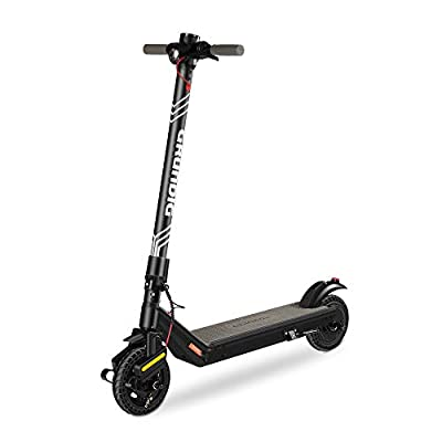 """GRUNDIG Electric Scooter, Foldable E-Scooter for Adults and Teens with 380W Motor 7.8Ah Battery 8.5"""" Tires Shock Absorber and Three Brake System, Max Speed 25 km/h and Range 30 km"""