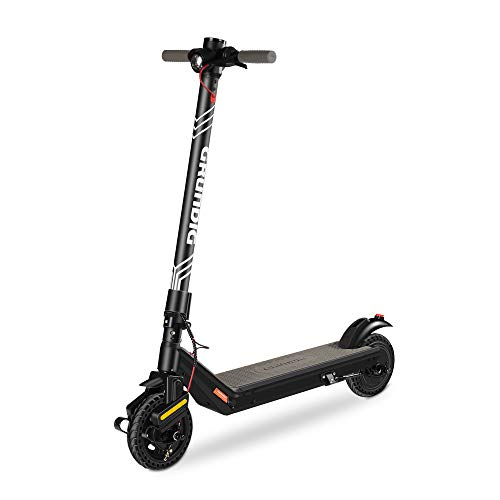 "GRUNDIG Electric Scooter, Foldable E-Scooter for Adults and Teens with 380W Motor 7.8Ah Battery 8.5"" Tires Shock Absorber and Three Brake System, Max Speed 25 km/h and Range 30 km"