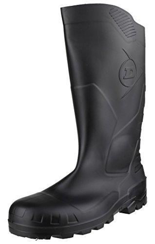 Dunlop S5 H142011 - Botas de seguridad con punta y entresuela de acero para hombre, color Negro, talla 42