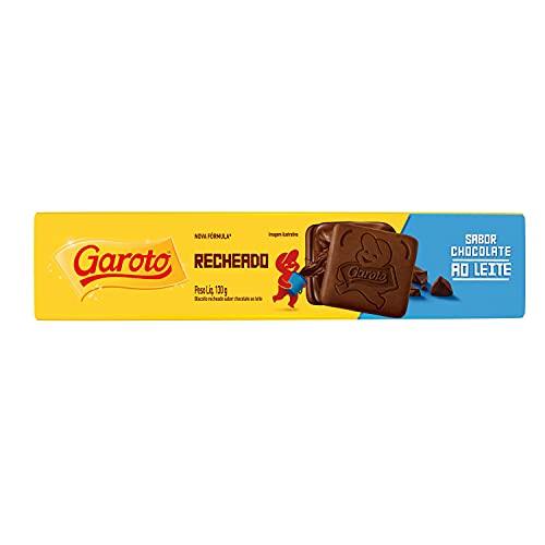 Garoto Biscoito Recheado Chocolate 130g BR