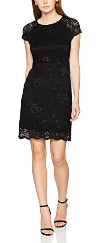ONLY Damen onlSHIRA LACE Dress NOOS WVN Kleid, Schwarz Black, 38