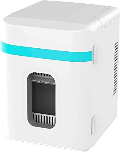 QAZXCV Mini-Kühlschrank 12-Liter, Kleiner Kühlschrank Gefrierkörper- / DC-thermoelektrisches System Kühler und Wärmer für Getränke Kosmetik Makeup Hautpflege,B