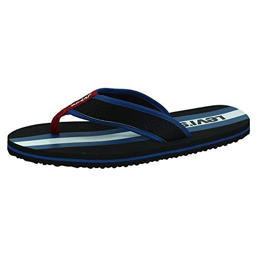 Levis Footwear and Accessories Herren Dodge Sportswear Zehentrenner, Schwarz (Regular Black 59), M